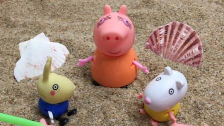 猪妈妈看到乔治佩奇争吵,决定出面解决问题,告诉他们该怎么办!