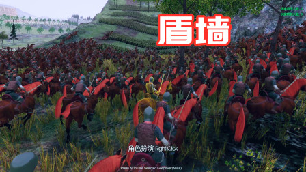 盾墙保卫战:精灵战士组成四道盾墙,能否阻挡上千个骑兵冲锋?