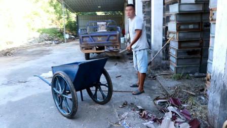 老房子换新瓦片了,胖哥把院子里大扫除一遍,敞亮多了