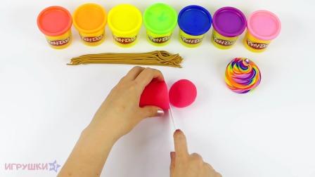 DIY制作玩玩的华夫蛋筒冰淇淋