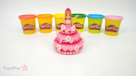 如何为公主娃娃制作蛋糕裙