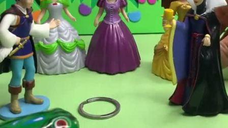 哈哈哈白雪公主玩具视频儿童故事玩具故事玩具原创动画幼儿教育小学生