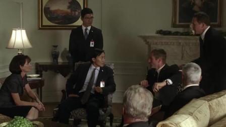 奥林匹斯的陷落:神秘飞机降临白宫,加特林扫射,白宫遭遇重创