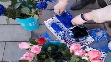 哪有那么多的蓝色妖姬,所谓的蓝玫瑰,原来都是这么做的!