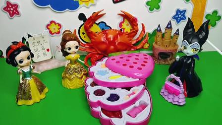 王后给白雪准备了草莓惊喜盒子,她会喜欢吗?