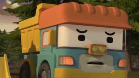 儿童玩具启蒙认知:赛车、推土机、警车、校车、翻斗车!