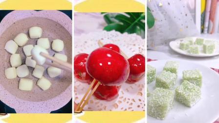 宝宝食谱记录第四十一期奶香小面包 黄瓜奶冻 自制冰糖葫芦