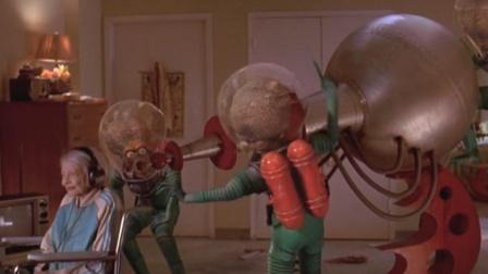 几分钟看完电影《火星人玩转地球》