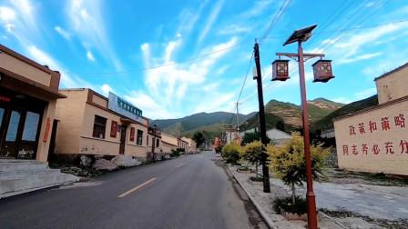 自驾山西五台山:巧遇3辆床车,一起露营美丽的小山村