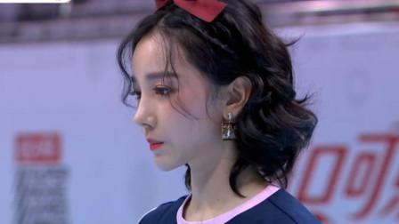 超新星运动会:陈小纭成为双冠王,无辜的表情加上发型,像极了出逃的迪士尼公主