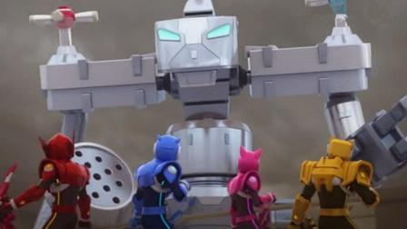迷你特工队刺猬机器人的对手会隐身!
