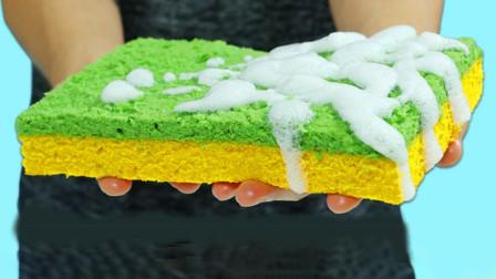 制作彩色的海绵蛋糕
