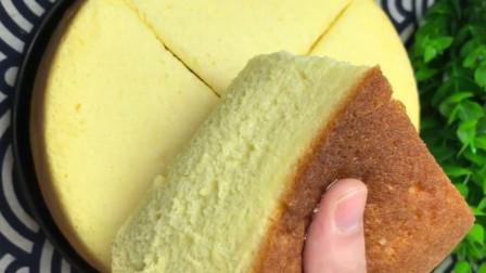 在家用电饭煲蒸蛋糕,做法简单,香甜松软,营养好吃,学会自己做