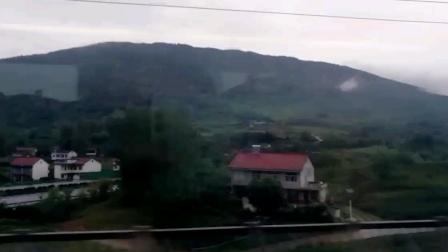 (搭档拍摄)D1911次(西安北-成都东)跨越G5京昆高速 电局CRH380D担任本次运输任务