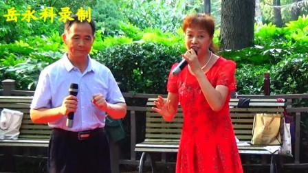 《艰苦奋斗要提倡,勤俭节约不能忘》,郑州市金水区绿荫公园艺术团戏曲公益演唱会,绿荫公园
