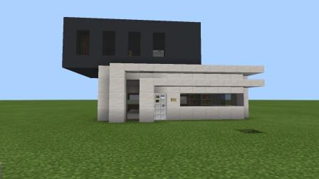 今天来教大家做好看的别墅 很简单 MC玩家必看 建筑水平堪比舞秋风