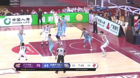 CBA篮球比赛:周琦以出色的成绩,助辽宁击败新疆晋级总决赛!