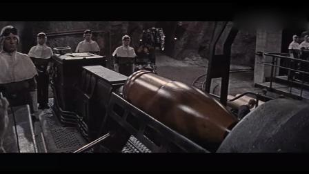 经典二战大片纳粹军队超级黑科技火力巨炮