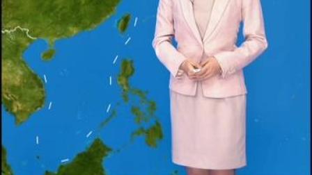 """#海况天天报 """"海高斯""""今早已登陆,下午开始渤海有短暂浪区过程。"""