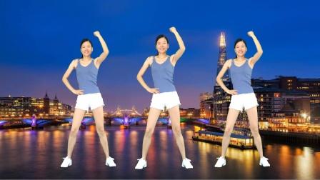 网红热歌广场舞《DJ最近》暴汗燃脂健身操