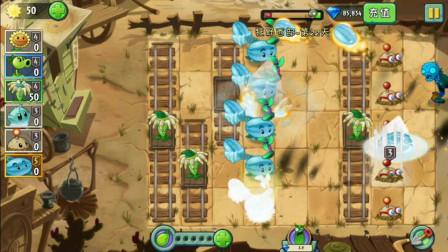 植物大战僵尸小喵解说378:冰西瓜的日常操作速战速决很给力