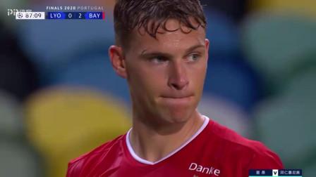 19-20赛季欧冠半决赛里昂VS拜仁集锦
