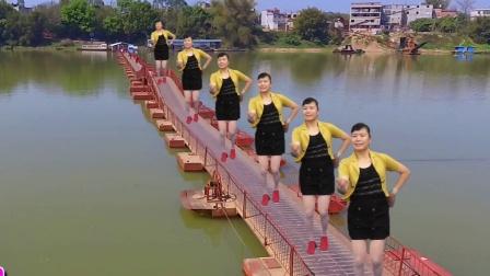广场舞32步 红山果 简单易跳