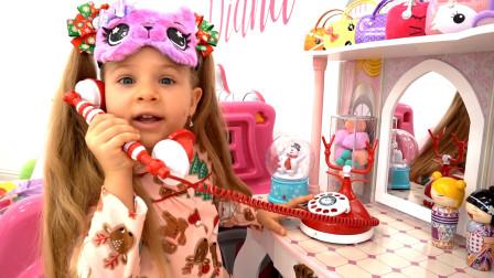 萌娃小可爱被邀请参加圣诞派对,小家伙可开心了!一萌娃:宝宝已经把自己打扮的美美哒!