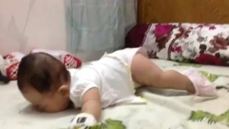 新生宝宝这个动作到底要干啥?看完之后,许多妈妈都恍然大悟