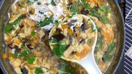 鸡蛋汤的家常做法,方法教给你,好喝有诀窍,简单易学,营养解馋