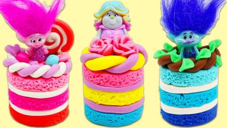 儿童动画雪花彩泥粘土DIY手工制作玩具视频教程大全 卡通蛋糕