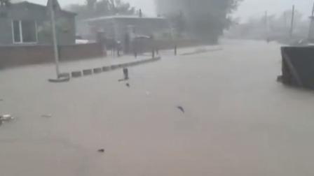说天下 2020 阜新:暴雨袭城 消防全面展开救援