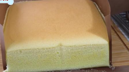 教你做台湾古早味蛋糕,绵密细腻不开裂