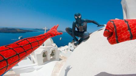 毒液VS蜘蛛侠,谁能更胜一筹?视频记录全过程,画面太刺激