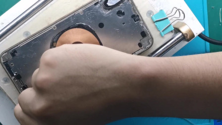 学员练习视频之xs max后玻璃:指南舟手机维修培训学校