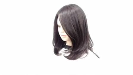 很流行的中长发发型,用这样的方法剪,通俗明了