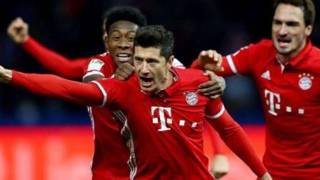 回顾:欧冠半决赛拜仁3-0里昂全场集锦,与大巴黎会师决赛
