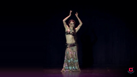 风情肚皮舞 性感健身舞蹈
