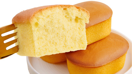 面点师教学鸡蛋糕的做法,香甜松软,营养美味,比蛋糕好吃多了