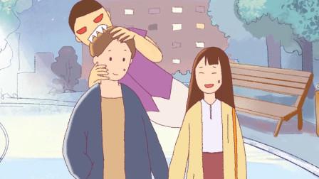 女孩从小能看见,别人看不见的东西,爸爸成为她的守护灵