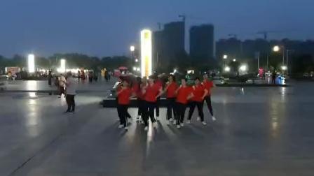 沈美琴广场舞《红红大中国 》