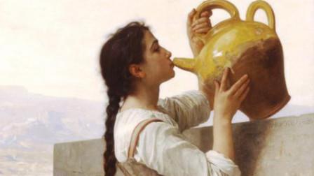 欣赏-布格罗的油画和马斯奈的小提琴曲《沉思》