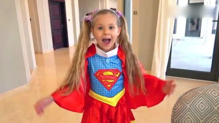 可爱萌娃:爸爸的电视遥控器找不到了,萌娃小可爱变身超级女侠来帮忙