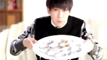 天天向上:彭昱畅挑战一分钟吃15个蛋挞!