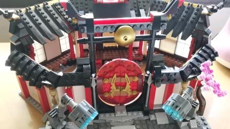 乐高幻影忍者 评测 幻影旋转术神庙