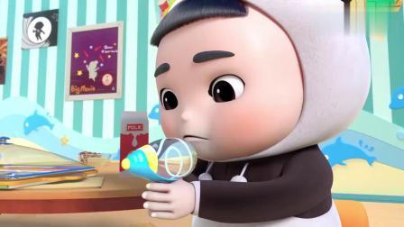 百变校巴:逗逗有厨师潜质啊,小小年纪就会做曲奇,而且还很好吃