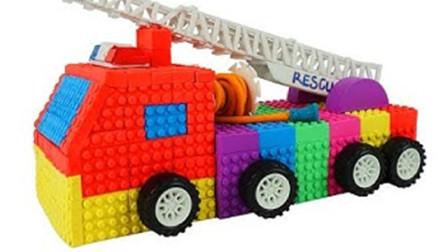 儿童早教手工乐园:动手用彩泥制作一辆炫酷的消防汽车!