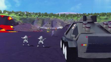 时空龙骑士6:人类和恐龙组合,挑战邪恶机器人,强者之间的对抗