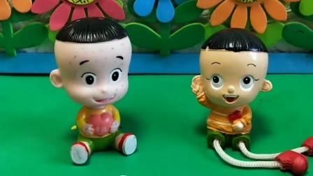 小猪佩奇玩具:谁想吃大头的巧克力呀?