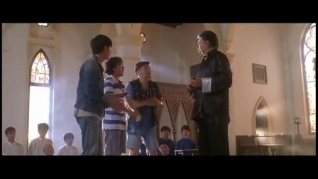 爆笑角斗士,三兄弟去拜师,师傅酷似洪金宝,却是个变魔术的